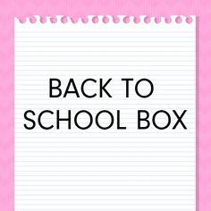 #memebox_usa New Arrival  Back to School Box http://wp.me/p3OLOa-2l #memebox