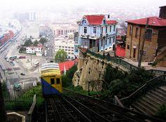 Los ascensores de Valparaíso son una parte esencial del transporte en esa ciudad de Chile. Debido a lo empinado de los cerros porteños, se torna difícil y de larga duración la comunicación de varios sectores a pie o por otro medio de transporte colectivo, por lo que los ascensores cumplen con la función de comunicar rápidamente la parte alta de la ciudad con el plan, demorándose, la mayoría de ellos, no más de un minuto en su trayecto.