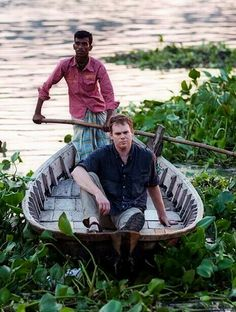 MCH during the documentary about global warming he filmed in India. Showtime Series, Dexter Morgan, Global Warming, Best Shows Ever, Im In Love, Documentary, Monsters, India, Film