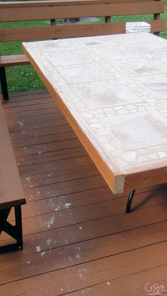 Wonderful Did Your Glass Patio Tabletop Break And Youu0027re Looking To Make A New Top Ideas