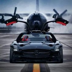 Cars Discover Ready to fly with wings up. Mercedes Benz SLS AMG check it ! Maserati, Supercars, Jet Privé, Mercedes Benz Sls Amg, Mercedes Sport, Mercedes Auto, Benz Car, Car Wheels, Sexy Cars