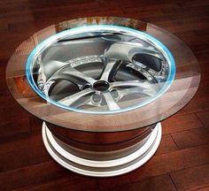 Awesome rim table. Automotive FurnitureCar ...