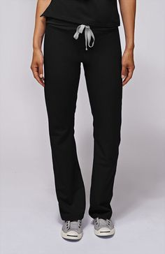 54d008ce0a9 Inspired by yoga apparel, these women's Kade cargo scrub pants are stylish,  flexible,