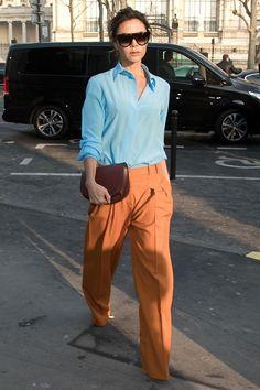 Victoria Beckham in Paris