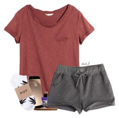 """""""chillin"""" by justice-ellis ❤ liked on Polyvore featuring H&M and INC International Concepts"""