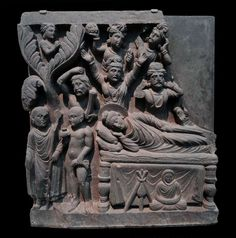 Life of the Buddha: Parinirvana Buddha Sculpture, Lion Sculpture, Buddha India, Buddhist Traditions, Buddha Art, Indian Gods, Asian Art, Art Gallery, Sculptures