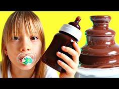 Johny Johny Yes Papa - Nursery Rhyme & Simple Songs for Children | Learn Colors & Chocolate Fountain - YouTube