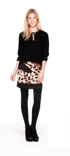 trend: animal print - nicole by @Nicole Novembrino Miller   leopard bandage skirt #comingsoon #fallstyle