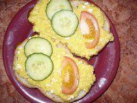 Jáhlová nebo pohanková pomazánka s vejci
