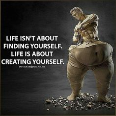 What is your ideal self like? Take steps towards creating your life, your way :-) (Fitness Motivation Quotes) - Learn how I made it to in one months with e-commerce! Wisdom Quotes, Quotes To Live By, Me Quotes, Motivational Quotes, Inspirational Quotes, Qoutes, Strong Quotes, Positive Quotes, Warrior Quotes