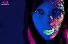 Cool Blacklight and UV Photography from Art London