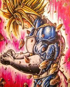 Trunks ssj 2 - Dragon Ball Z Fanart Manga, Dragon Ball Z Shirt, Dbz Characters, Z Arts, Fan Art, Anime Comics, Anime Art, Animation, Android