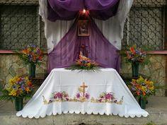 Mantel de altar.