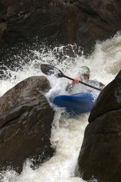 """Green River Race in Western North Carolina.  Shot taken at the rapid """"Go Left and Die""""."""