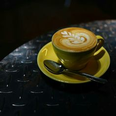 Fat tulip made in Indonesia by Akrabi Coffee