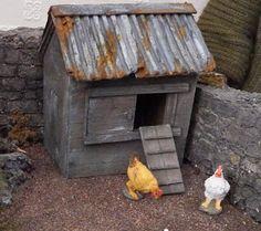 Building Miniature dreams: The chicken coop