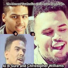 Al B Sure + Christopher Williams = Chris Brown