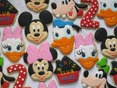 Classic Disney Sugar Cookie Collection 1 by MartaIngros on Etsy, $30.00