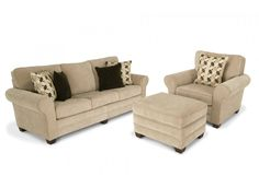 """Maggie II 90"""" Sofa, Chair & Storage Ottoman   Maggie II   Living Room Collections   Living Room   Bob's Discount Furniture"""