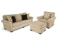 maggie ii 90 sofa chair storage ottoman living room setsliving - Bobs Living Room Sets