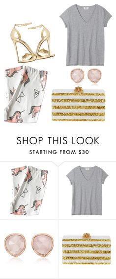 """""""not my best"""" by shorush ❤ liked on Polyvore featuring Monica Vinader, Edie Parker and Dolce&Gabbana"""