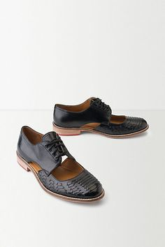 Anthropologie EU Cut Out Brogues
