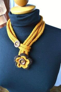 crochet necklace 32