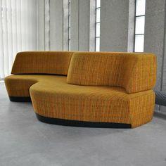 Christoph Joron-Derem; 'Superonda' Sofa/Daybed, 1967.: