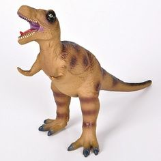Adventure Planet Medium 14 Inch Soft And Squeezable T-Rex Dinosaur Toy www.DinosaurToysSuperstore.com