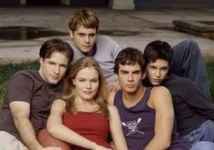 Cast of Young Americans (2000) - Rodney Scott, Katherine Moennig, Mark Famiglietti, Kate Bosworth + Ian Somerhalder