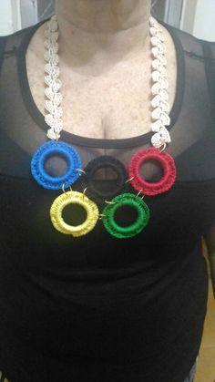 colar Olimpíada