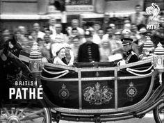 President Urho Kaleva Kekkonen of Finland pays State visit to England. LS royal family awaiting President of Finland at Victoria station. Princess Anne, Princess Margaret, Prince Philip, Prince Charles, Victoria Memorial, Shake Hands, Buckingham Palace, Queen Victoria, Queen Elizabeth Ii