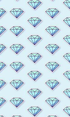 Diamond Wallpaper, Cellphone Wallpaper, Aesthetic Backgrounds, Diamond Gemstone, Triangle, Diamonds, Wallpapers, Gemstones, Tattoos
