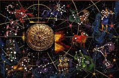 horoscope, colourful