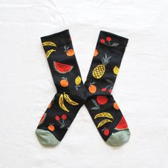 Chaussettes Femme Originales Made in France Fruits