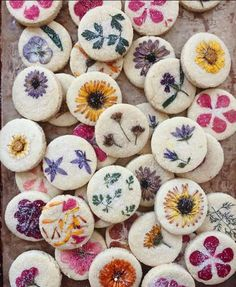 These Floral Shortbread Cookies Are Almost Too Pretty To Eat