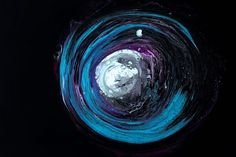 space blue, and black abstract illustration Black Abstract, Abstract Photos, Abstract Art, Spiral Art, Love Aesthetics, Displays, Free Stock Video, Light Of Life