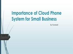 Cloud Telephony for small business