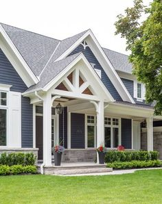 Portfolio | New Homes | Traditional Simplicity #customhomedesign #architecture