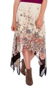JF05P_co Floral Chiffon, High Low, Dresses, Fashion, Gowns, Moda, Fashion Styles, Dress, Vestidos