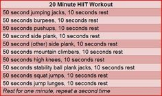 HIIT for fat shred