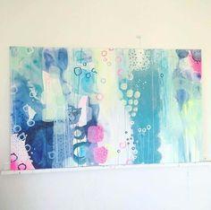 Painting by artist Mette Lindberg. www.mettesmaleri.dk