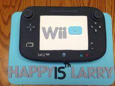 Wii U cake    https://m.facebook.com/mandysbonappetreats#