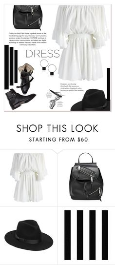 """Spring Trend: Off-Shoulder Dresses"" by ladydzsen ❤ liked on Polyvore featuring Chicwish, Marc Jacobs, Lack of Color and offshoulderdresses"