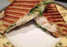 For fish lovers -  Grilled Cheese with shrimp salad #recipe on Mystery Lovers Kitchen from @DarylWoodGerber INHERIT THE WORD, 2nd in Cookbook Nook mysteries, out 3/14