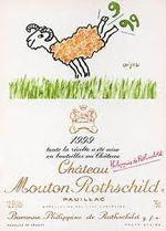 On Sunday we go into the depths .... The labels of Mouton Rothschild .... 1999 .... read more on ....
