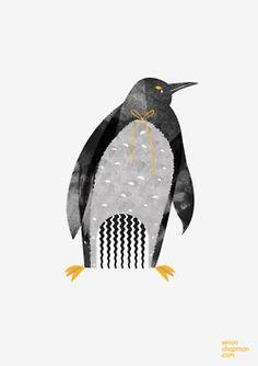 penguin comb © Eirian Chapman