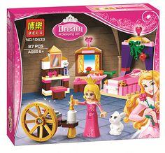 2016 New BELA Building Blocks Friends Princess Dream Sleeping Beauty House Model Set Figures Gifts Toys Compatible Legoe