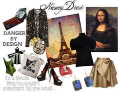 """Nancy Drew~ Danger By Design"" by dollfacekiti on Polyvore"