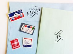 Are you looking for a way to jazz up your envelopes, gift tags, wrapping paper, or presents?  You've found it!